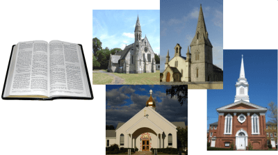 One Bible, many churches - why?